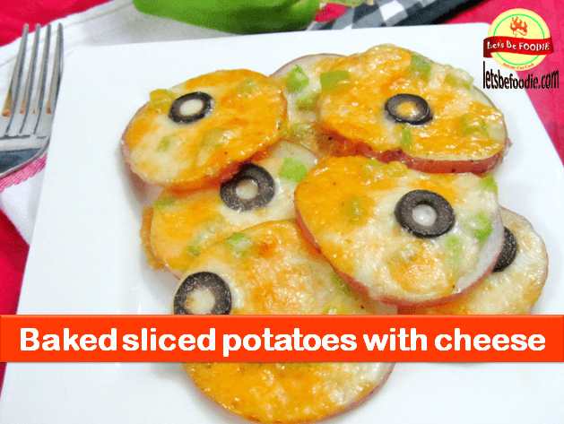 Oven Baked Sliced Potatoes Recipe