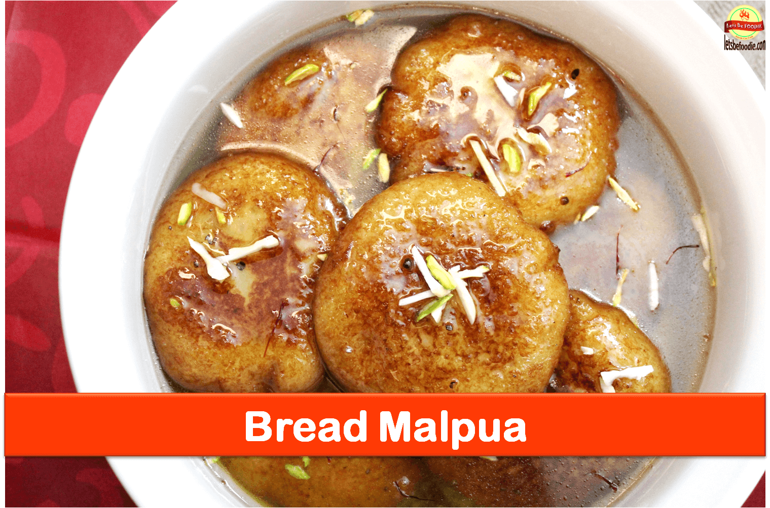Indian Sweet Bread Malpua Recipe