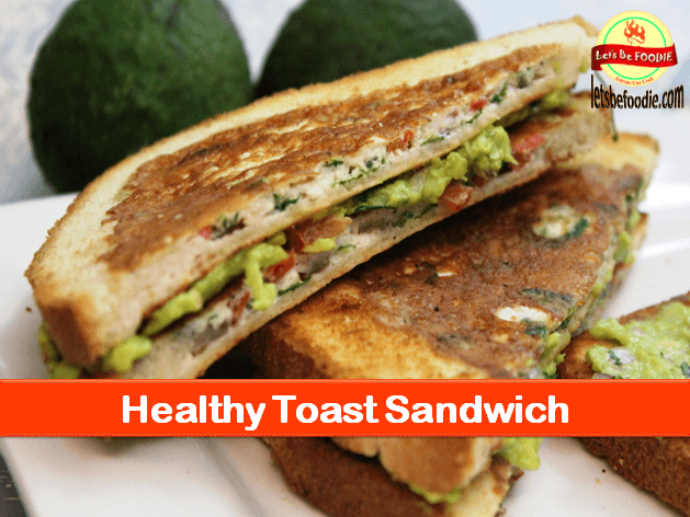 Healthy Egg Avocado Sandwich Recipe