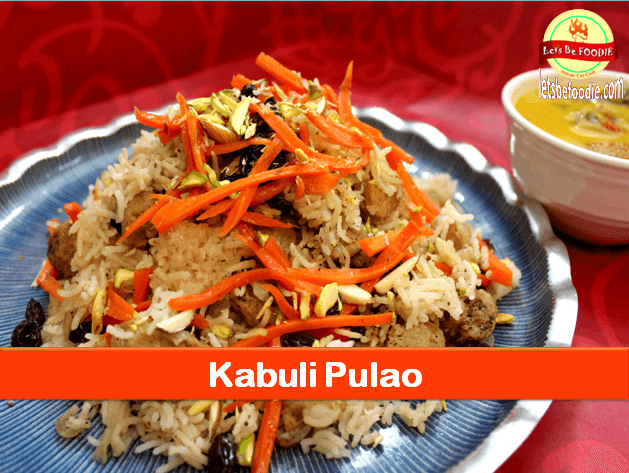 Veg Kabuli Pulao Recipe