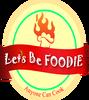 Like Let's be Foodie Logo
