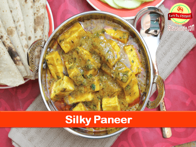 Silky Paneer – Masala Paneer Curry Recipe
