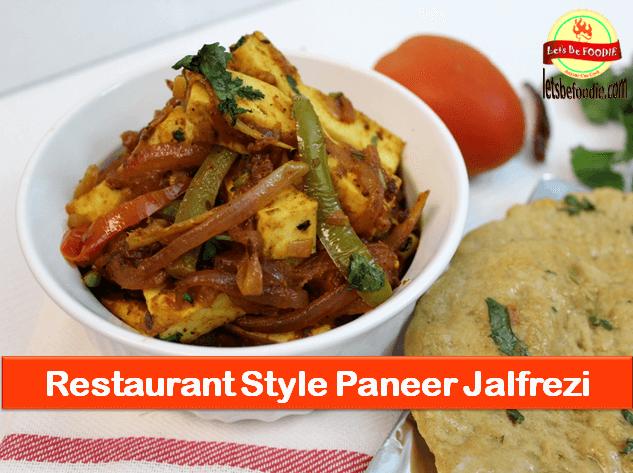 Paneer Jalfrezi Recipe-Quick Dry Sabzi