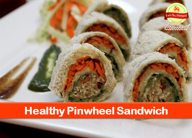 Healthy Pinwheel Sandwich Recipe