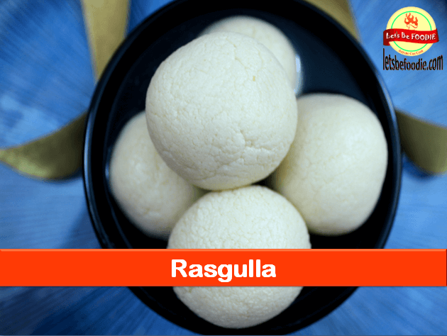 Bengali Sponge Rasgulla Recipe