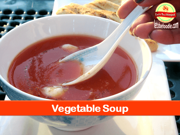 Healthy Easy Vegetable Soup Recipe